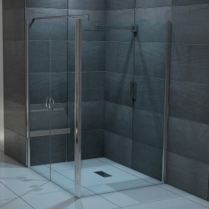 design eckdusche aus glas duschabtrennung glas. Black Bedroom Furniture Sets. Home Design Ideas