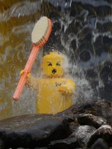 Duschabtrennung lego